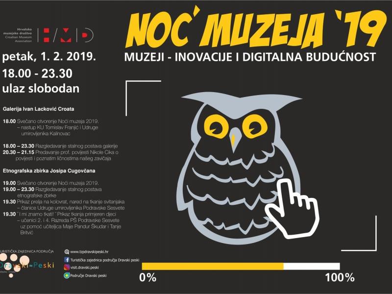 Noć muzeja 2019.
